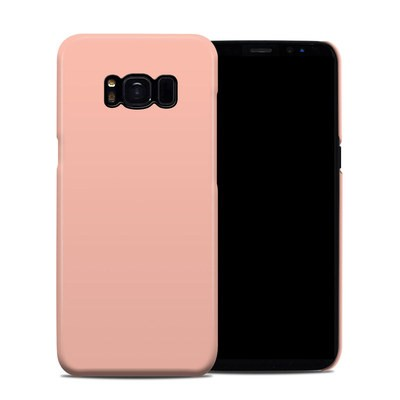 Samsung Galaxy S8 Clip Case - Solid State Peach
