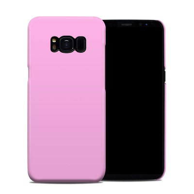 Samsung Galaxy S8 Clip Case - Solid State Pink
