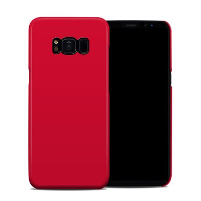 Samsung Galaxy S8 Clip Case - Solid State Red