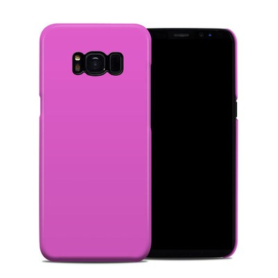 Samsung Galaxy S8 Clip Case - Solid State Vibrant Pink
