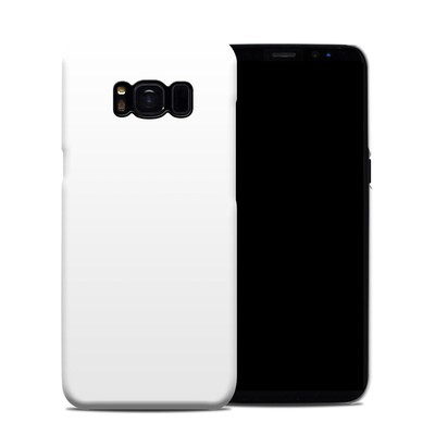 Samsung Galaxy S8 Clip Case - Solid State White