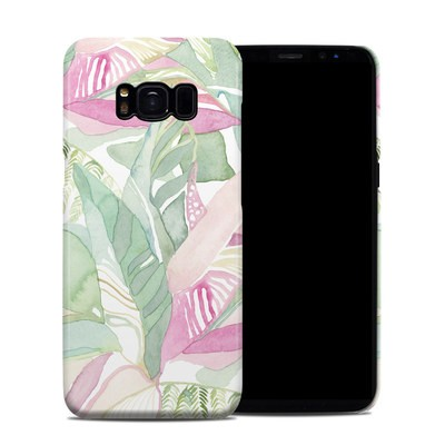 Samsung Galaxy S8 Clip Case - Tropical Leaves
