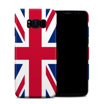 Samsung Galaxy S8 Clip Case - Union Jack