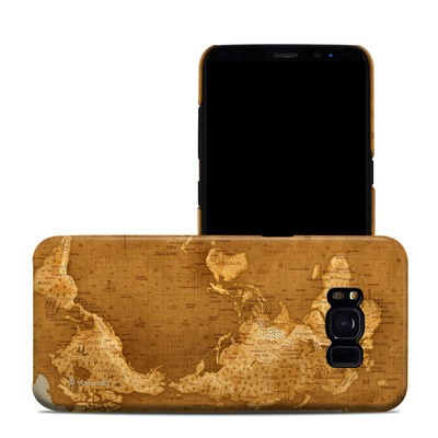 Samsung Galaxy S8 Clip Case - Upside Down Map