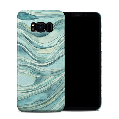 Samsung Galaxy S8 Clip Case - Waves