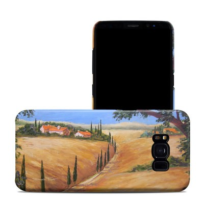 Samsung Galaxy S8 Clip Case - Wheat Fields