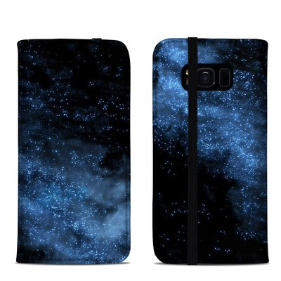 Samsung Galaxy S8 Folio Case - Milky Way