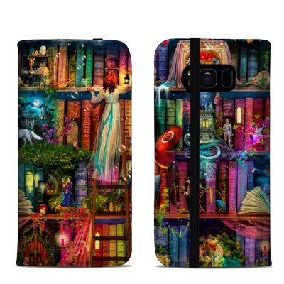Samsung Galaxy S8 Folio Case - Treasure Hunt