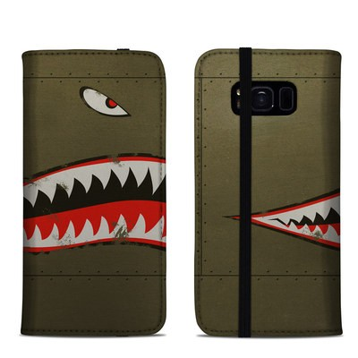 Samsung Galaxy S8 Folio Case - USAF Shark