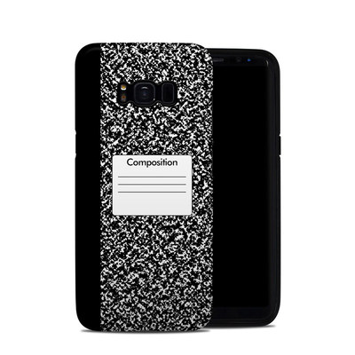 Samsung Galaxy S8 Hybrid Case - Composition Notebook