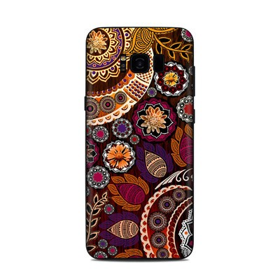 Samsung Galaxy S8 Plus Skin - Autumn Mehndi