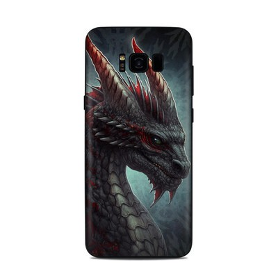 Samsung Galaxy S8 Plus Skin - Black Dragon