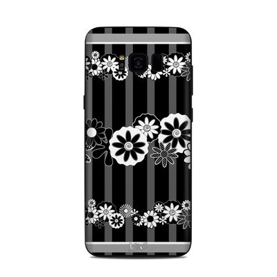 Samsung Galaxy S8 Plus Skin - Black Retro