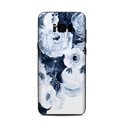 Samsung Galaxy S8 Plus Skin - Blue Blooms