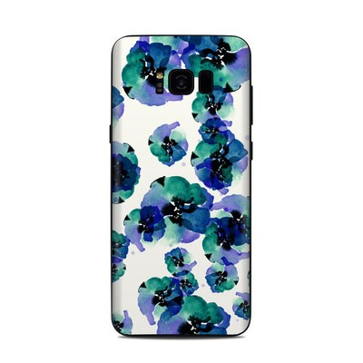Samsung Galaxy S8 Plus Skin - Blue Eye Flowers