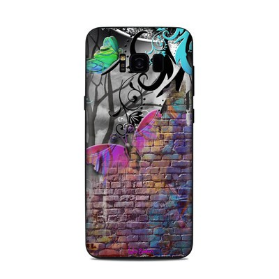 Samsung Galaxy S8 Plus Skin - Butterfly Wall