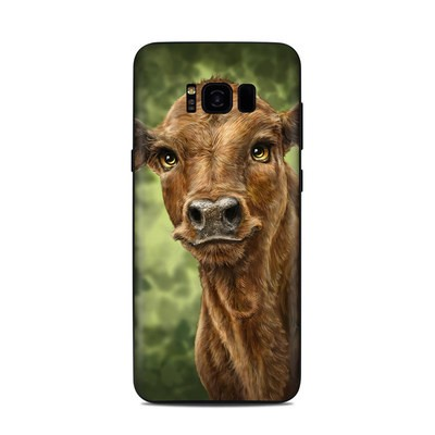 Samsung Galaxy S8 Plus Skin - Clearwater Calf