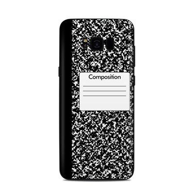 Samsung Galaxy S8 Plus Skin - Composition Notebook