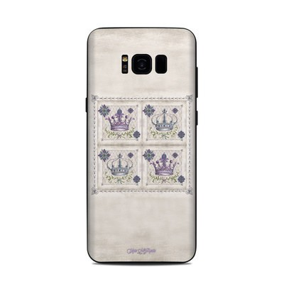 Samsung Galaxy S8 Plus Skin - Purple Crown