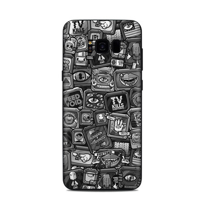Samsung Galaxy S8 Plus Skin - Distraction Tactic B&W