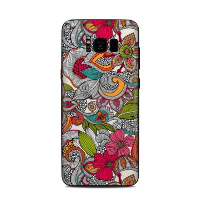 Samsung Galaxy S8 Plus Skin - Doodles Color