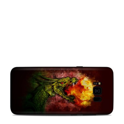 Samsung Galaxy S8 Plus Skin - Fire Breath