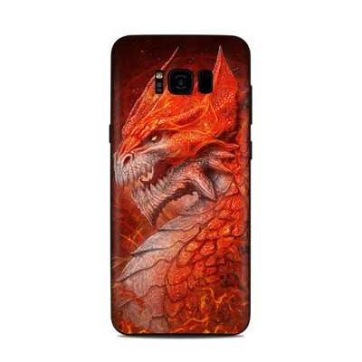 Samsung Galaxy S8 Plus Skin - Flame Dragon