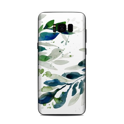 Samsung Galaxy S8 Plus Skin - Floating Leaves