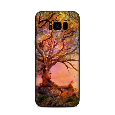 Samsung Galaxy S8 Plus Skin - Fox Sunset
