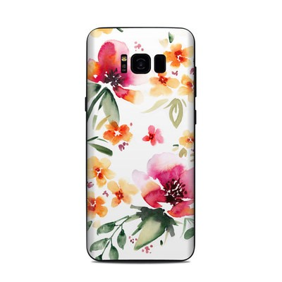 Samsung Galaxy S8 Plus Skin - Fresh Flowers