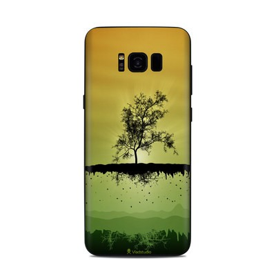 Samsung Galaxy S8 Plus Skin - Flying Tree Amber