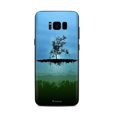 Samsung Galaxy S8 Plus Skin - Flying Tree Blue