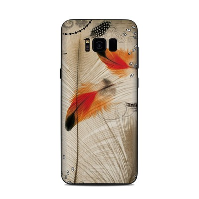 Samsung Galaxy S8 Plus Skin - Feather Dance