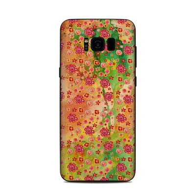 Samsung Galaxy S8 Plus Skin - Garden Flowers