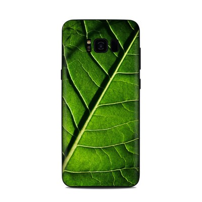 Samsung Galaxy S8 Plus Skin - Green Leaf