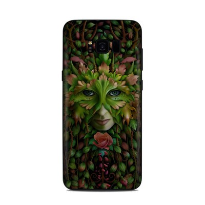 Samsung Galaxy S8 Plus Skin - Green Woman