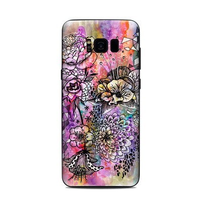 Samsung Galaxy S8 Plus Skin - Hot House Flowers