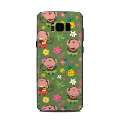 Samsung Galaxy S8 Plus Skin - Hula Monkeys