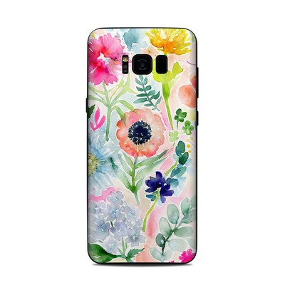 Samsung Galaxy S8 Plus Skin - Loose Flowers