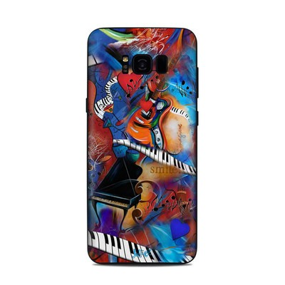 Samsung Galaxy S8 Plus Skin - Music Madness