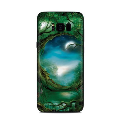 Samsung Galaxy S8 Plus Skin - Moon Tree