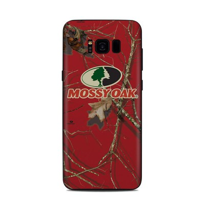 Samsung Galaxy S8 Plus Skin - Break-Up Lifestyles Red Oak
