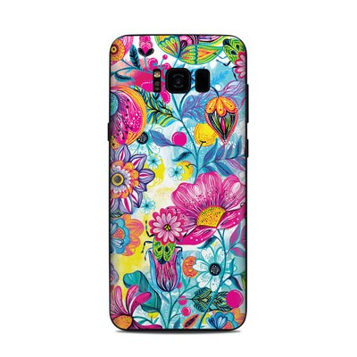 Samsung Galaxy S8 Plus Skin - Natural Garden