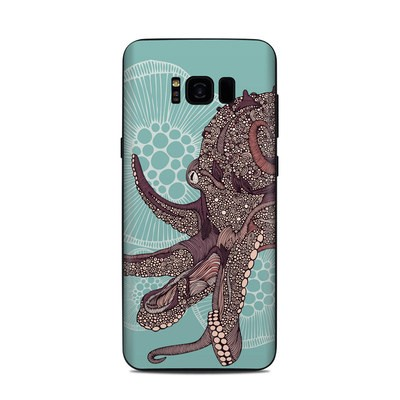 Samsung Galaxy S8 Plus Skin - Octopus Bloom