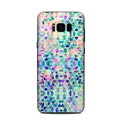 Samsung Galaxy S8 Plus Skin - Pastel Triangle