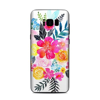 Samsung Galaxy S8 Plus Skin - Pink Bouquet