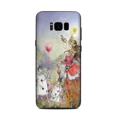 Samsung Galaxy S8 Plus Skin - Queen of Hearts