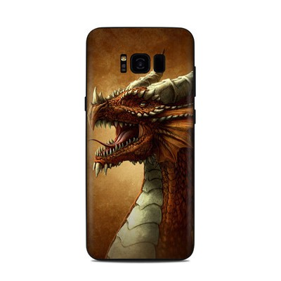 Samsung Galaxy S8 Plus Skin - Red Dragon