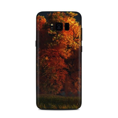 Samsung Galaxy S8 Plus Skin - Red and Gold
