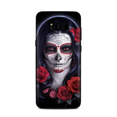Samsung Galaxy S8 Plus Skin - Sugar Skull Rose